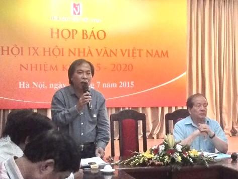 Đại hội Hội Nhà văn Việt Nam lần 9: Sẽ bầu BCH mới vào ban ngày!
