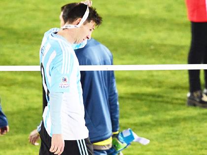 Lionel Messi tiếp tục vô duyên với Argentina: 10 năm vẫn một nỗi đau