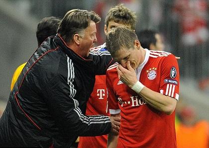 Louis van Gaal là người ảnh hưởng rất lớn đến sự nghiệp của Schweinsteiger