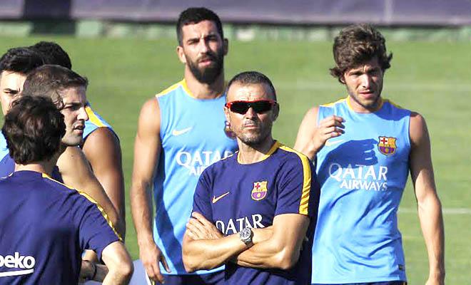 Barca hướng đến mùa giải 2015-16: Chạy marathon cùng Luis Enrique