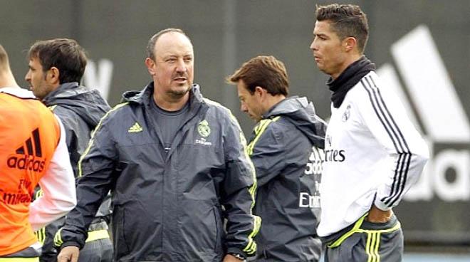 Nhiệm vụ khó khăn nhất của Benitez: Làm sao để Ronaldo vừa lòng?