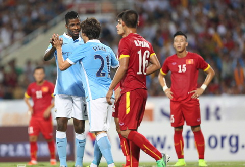 Man City thắng 8-1 tuyển Việt Nam - ảnh 1