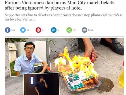 Sự cố fan Việt ở chuyến du đấu của Man City: Nỗi hổ thẹn của truyền thông