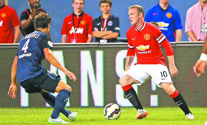 Hàng công Man United: Rooney đã trưởng thành và chín chắn hơn