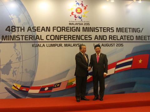 Phó Thủ tướng Phạm Bình Minh: Lần đầu tiên vấn đề bồi đắp các đảo đá được nêu hẳn trong Thông cáo chung của AMM