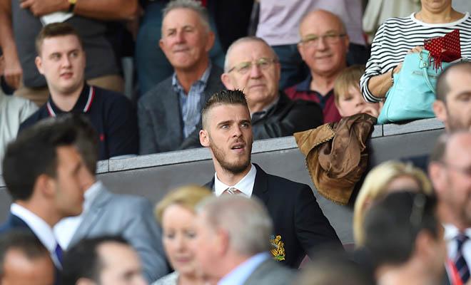 David De Gea từ chối bắt trận gặp Aston Villa: Đi cũng dở, ở không xong