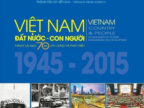 70 năm Việt Nam trong một cuốn sách ảnh