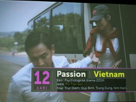 Phim 'Đam mê' tham dự LHP ASEAN tại Praha