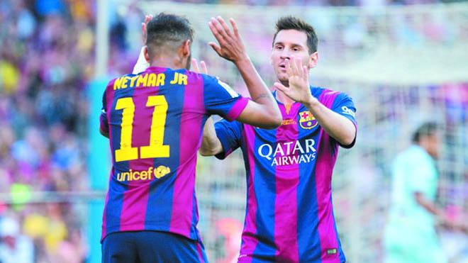 Đề nghị lương khủng cho Neymar, Barca đang 'tấn công' Messi?