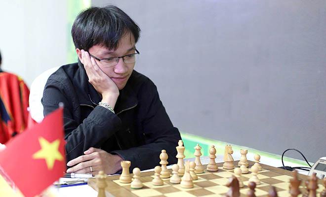 World Cup cờ vua 2015: Trường Sơn thắng thuyết phục, Quang Liêm bị cầm hòa