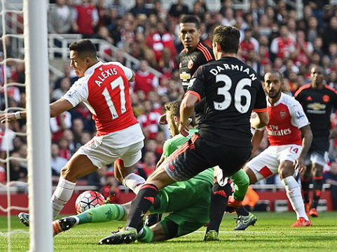 Arsenal 3–0 Man United: Alexis Sanchez rực sáng, Arsenal đè bẹp Man United