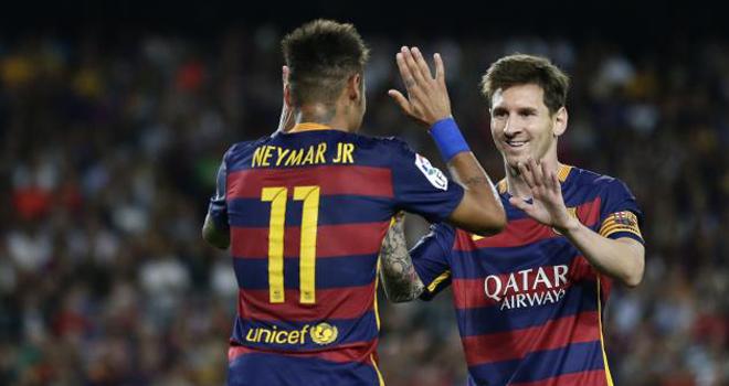CẬP NHẬT tin sáng 30/10: Messi không rời Barca nhưng Neymar có thể bị bán. Man United muốn có Ibrahimovic
