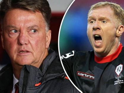 Van Gaal: 'Scholes nói gì thì nói, tôi không quan tâm. Man United đang tiến bộ'