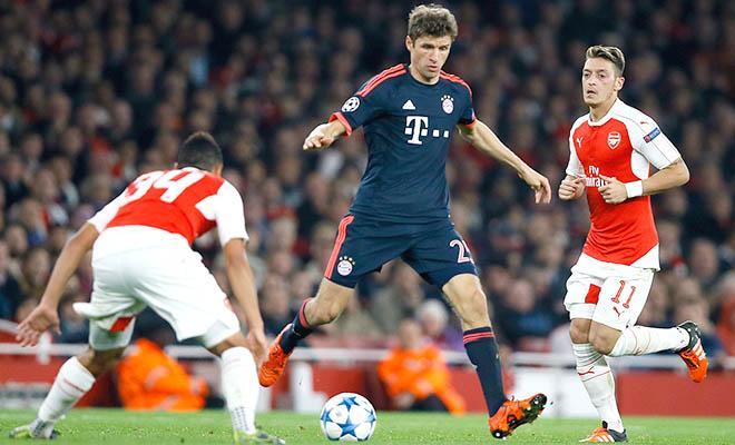 02h45 ngày 5/11, Bayern Munich - Arsenal (lượt đi 0-2): Nếu tấn công, Arsenal có thể thảm bại