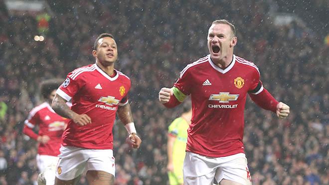 Man United: Rooney đã ghi bàn, nhưng vẫn không phù hợp đá trung phong