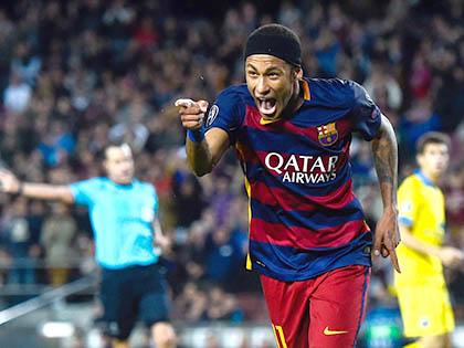 Sang năm, Neymar sẽ cạnh tranh QBV với Messi