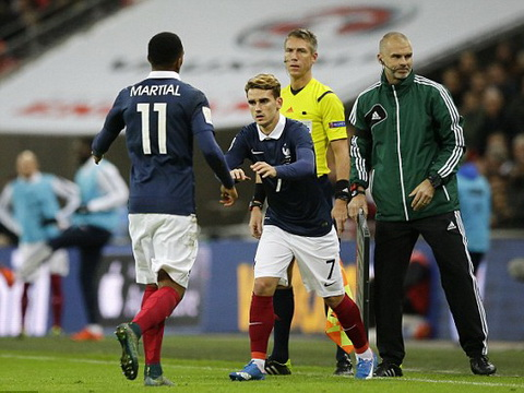 Man United vẫn chưa xác định tình trạng chấn thương của Martial