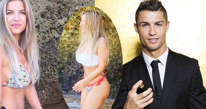 Ronaldo hẹn hò ái nữ nhà 'siêu cò' Mendes: Chán siêu mẫu, mê gái ngoan
