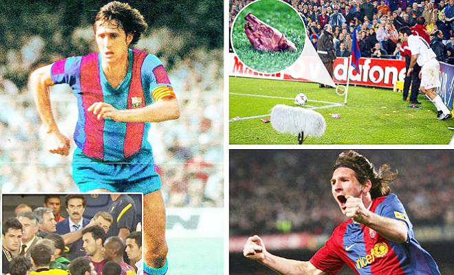 10 khoảnh khắc sốc nhất ở 'Kinh điển' Real Madrid - Barcelona