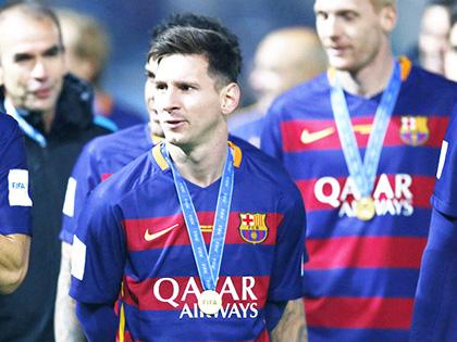 Thế giới dưới đôi chân Messi