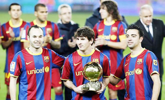 Barcelona là 'đội bóng Vàng ròng'