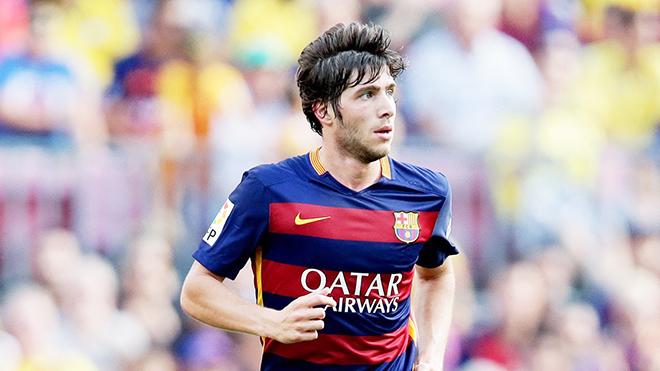 Sergi Roberto đã chơi đến 7 vị trí tại Barca