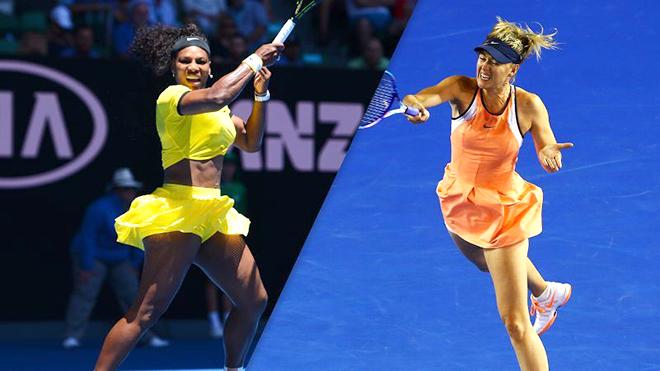 Dù thế nào, Serena-Sharapova vẫn là cặp đấu kinh điển