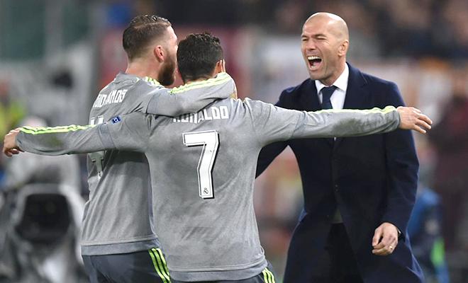 Real Madrid: Zidane chẳng phải là dạng vừa!