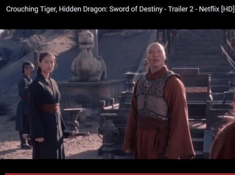 Video: Ngô Thanh Vân xuất hiện trong trailer 'Ngọa hổ tàng long' mới nhất