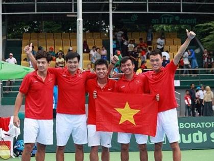 Con số & Bình luận: Kỳ tích quần vợt Việt Nam ở Davis cup