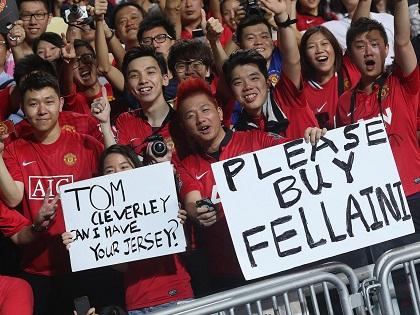 Man United gặp Dortmund và Man City ở Trung Quốc mùa Hè này