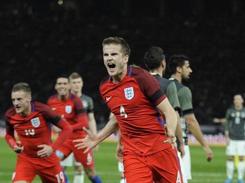 Đức 2-3 Anh: Kane, Vardy tỏa sáng, tuyển Anh ngược dòng ngoạn mục tại Berlin