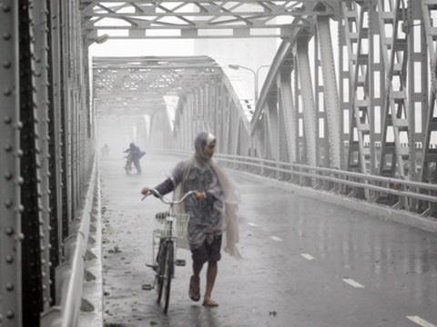 Miền Bắc rét nàng Bân, có mưa vừa, mưa to