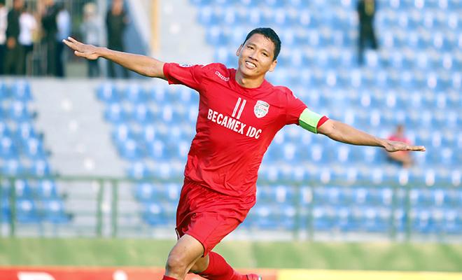 B.Bình Dương trước trận gặp Jiangsu: 1 điểm vì 1 tỷ tiền thưởng