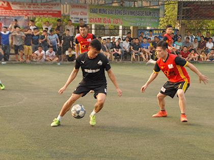 Vòng 4 giải bóng đá Vinh League 2016 – Cúp HABECO: Dàn sao SLNA xung trận