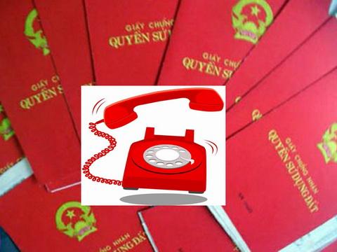 Gặp cán bộ nhũng nhiễu khi làm sổ đỏ, người dân Hà Nội gọi số nào?