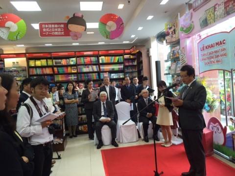 Tuần lễ sách Nhật tại nhà sách Fahasa Nguyễn Huệ và Tân Định, tháng 5/2016