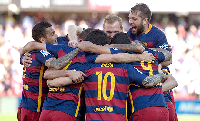 Nhà vô địch không phải là Barca