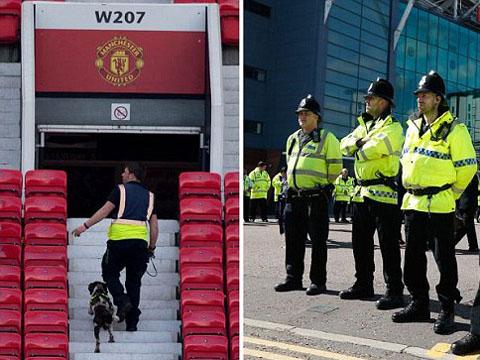 Trận Man United – Bournemouth được dời sang sáng thứ Tư vì trò đùa quái ác về bom