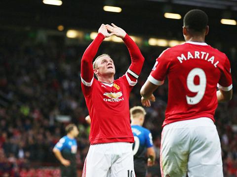 Man United 3–1 Bournemouth: Rooney tỏa sáng, Quỷ đỏ hạ màn bằng chiến thắng
