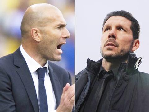 Zinedine Zidane: 'Simeone có mọi tố chất mà một HLV cần'