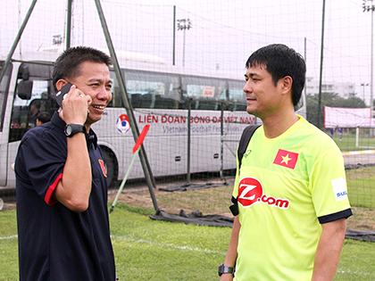 HLV Hoàng Anh Tuấn: 'Tuyển Việt Nam chỉ nhỉnh hơn chúng tôi về cơ hội ghi bàn'