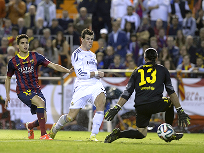 Hàng công Real Madrid: Gareth Bale luôn vĩ đại ở các trận chung kết