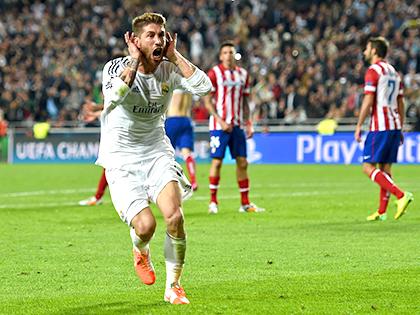 Real luôn thắng Atletico ở châu Âu