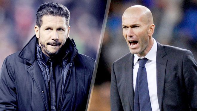 HỌ ĐÃ NÓI, Zidane: 'Cơ hội chia đều cho cả 2', Simeone: 'Thành bại nằm ở tuyến giữa'