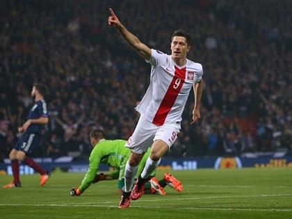 Xem những pha lập công của Lewandowski ở vòng loại EURO 2016