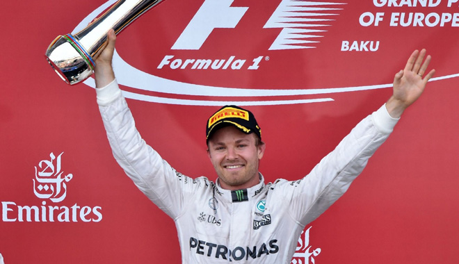 F1: 2016 sẽ là năm của Nico Rosberg