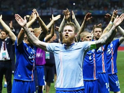 Kiểu ăn mừng của Iceland sẽ ĐỘC nhất EURO 2016