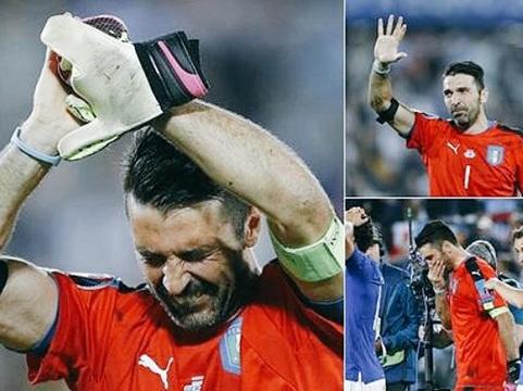 Italy gục ngã ở tứ kết EURO 2016: Khi Azzurri đã chạm đến trái tim người hâm mộ