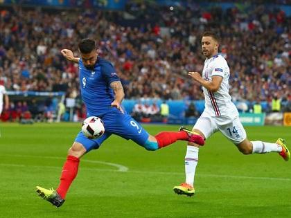 Olivier Giroud khẳng định giá trị nơi hàng công Pháp